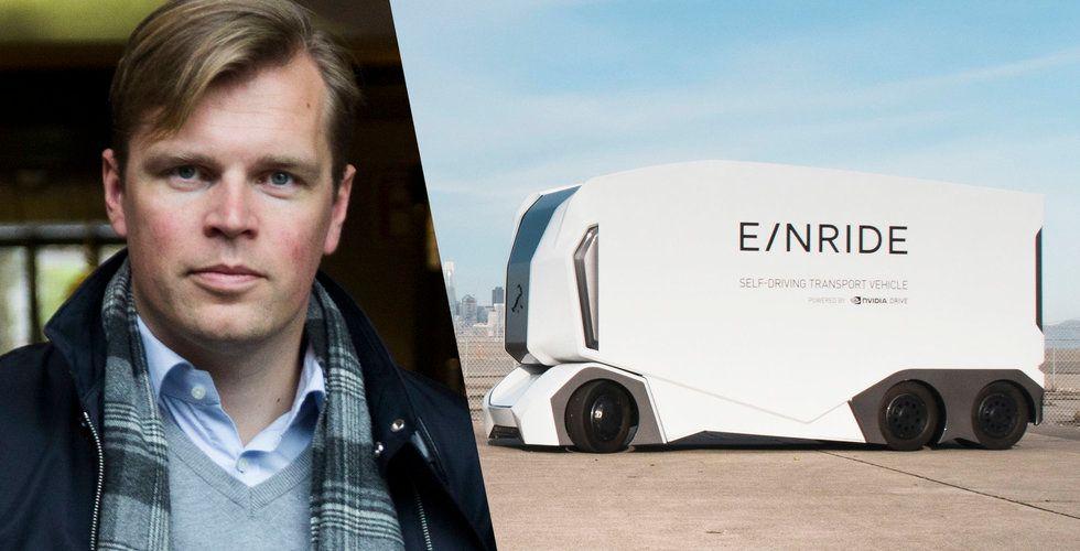 Affärsänglar investerar 35 miljoner i Einrides självkörande lastbilar
