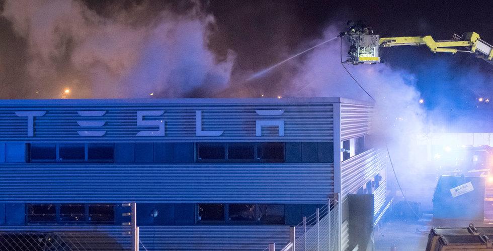 Breakit - Brand i Teslas nya lokaler i Malmö