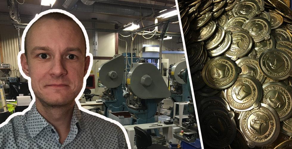 Finwire-grundaren köpte en gammal fabrik – nu lämnar han sin mediebyrå