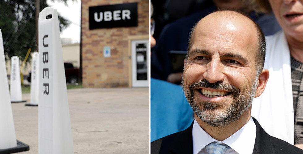 Uber anlitar storbanker inför börsnotering