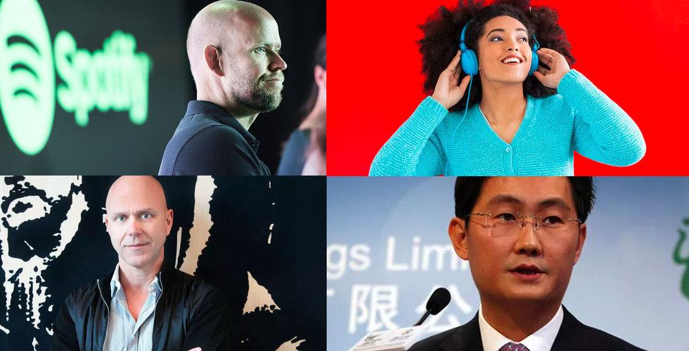 Tencent Music kan köpa Universal Music – i ny miljardaffär