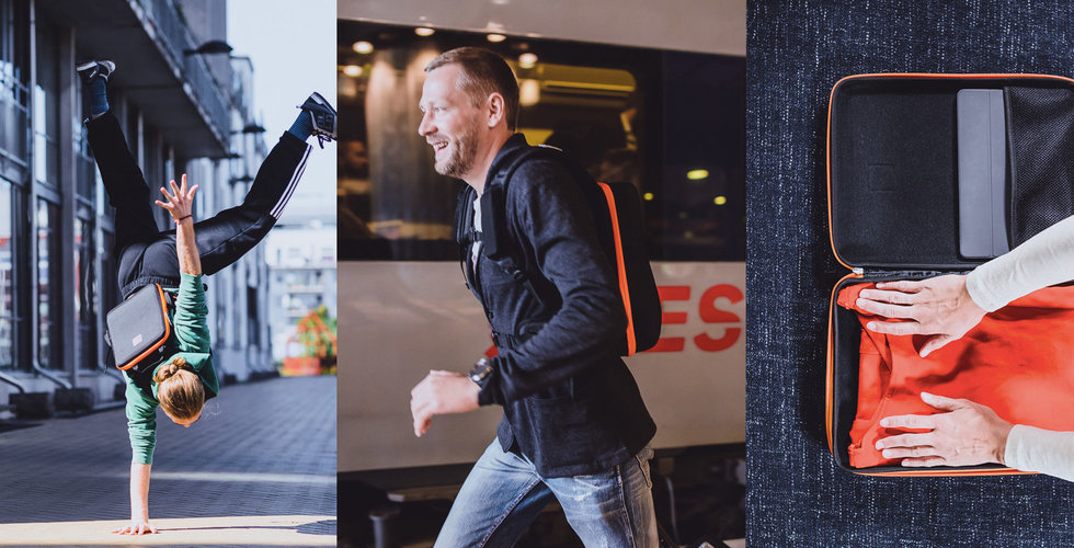 Hans smarta ryggsäck Iamrunbox sprang precis hem miljoner via crowdfunding