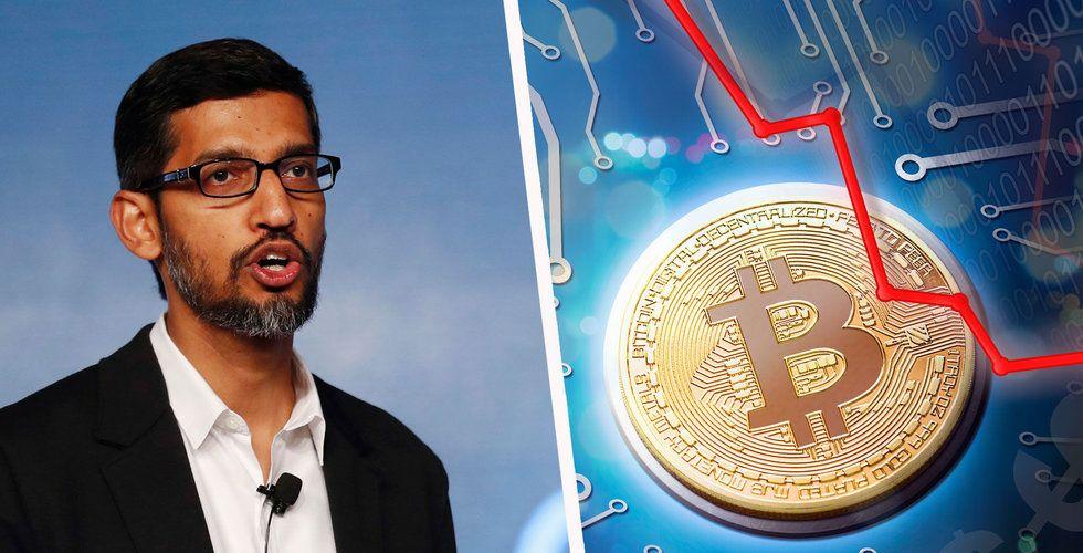 Breakit - Efter Googles blockering – kryptovalutorna fortsätter falla