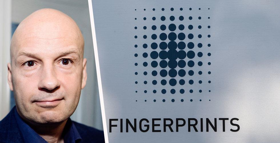 Fingerprint handelsstoppas på Stockholmsbörsen