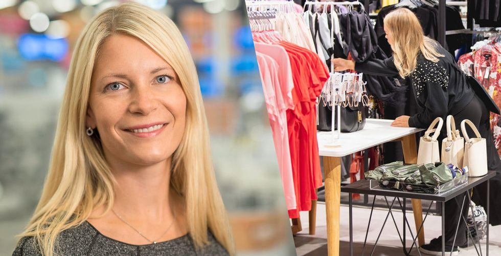 Susanne Ehnbåge rivstartar –  ska fördubbla Lindex försäljning på nätet