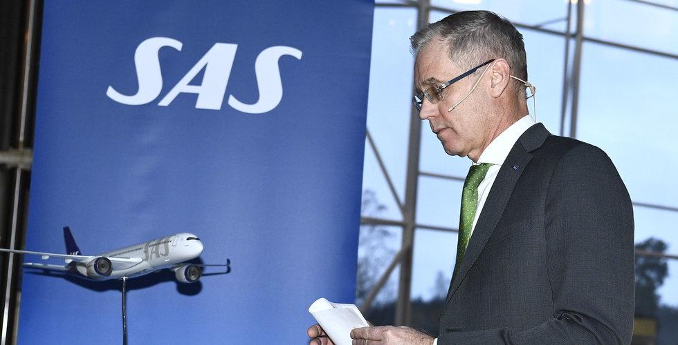 SAS minskar personalstyrkan med 5 000 personer
