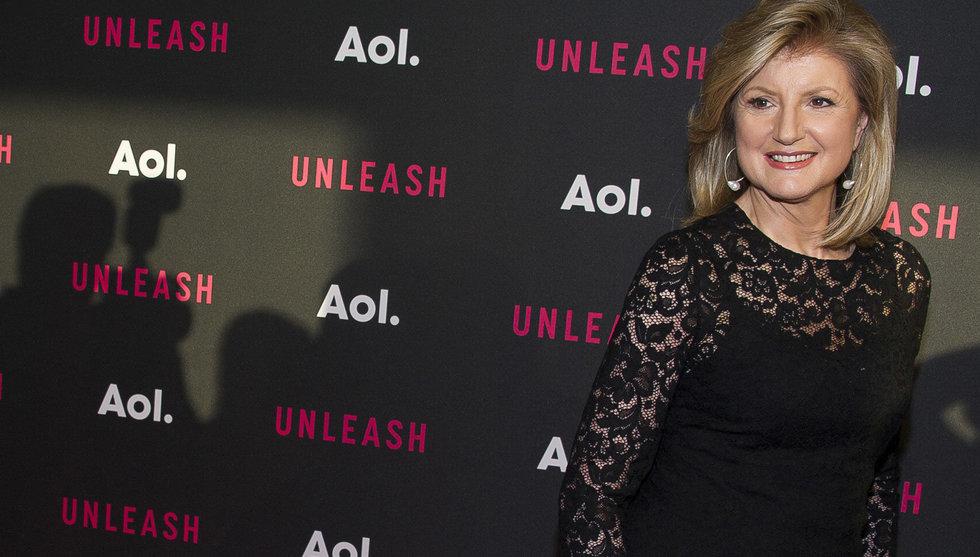 Huffington lämnar sitt livsverk - för att satsa på hälsostartup
