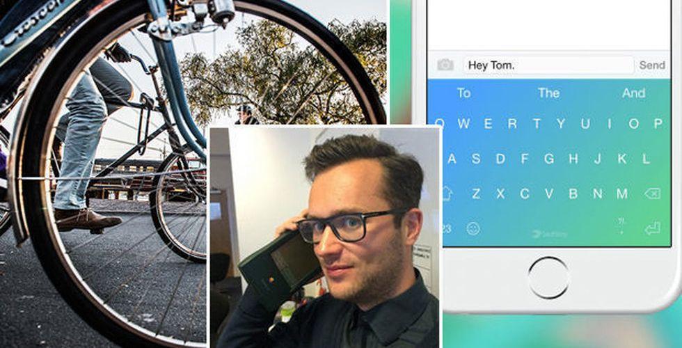 Breakit - Bytte aktier mot cykel - nu säljs hans gamla bolag för 2 miljarder