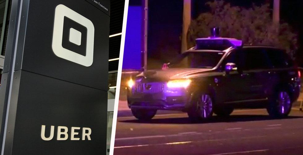 Uber frias – har inget ansvar för olyckan med självkörande Volvo