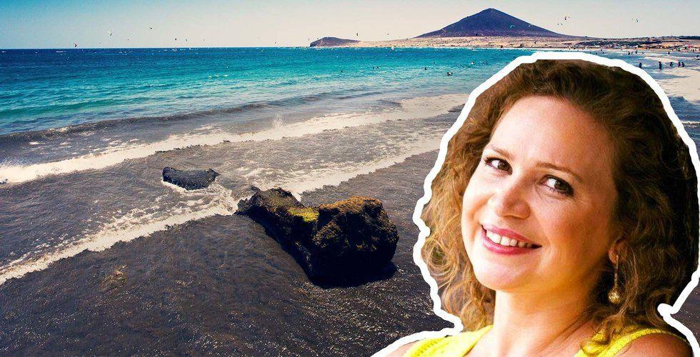 """Entreprenören Andreia driver företaget från Teneriffa:""""Här finns livskvalitet och stora möjligheter till samarbeten"""""""