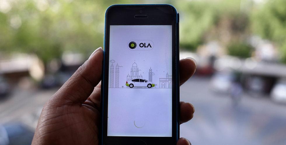 Taxiapptjänsten Ola etablerar sig i Storbritannien