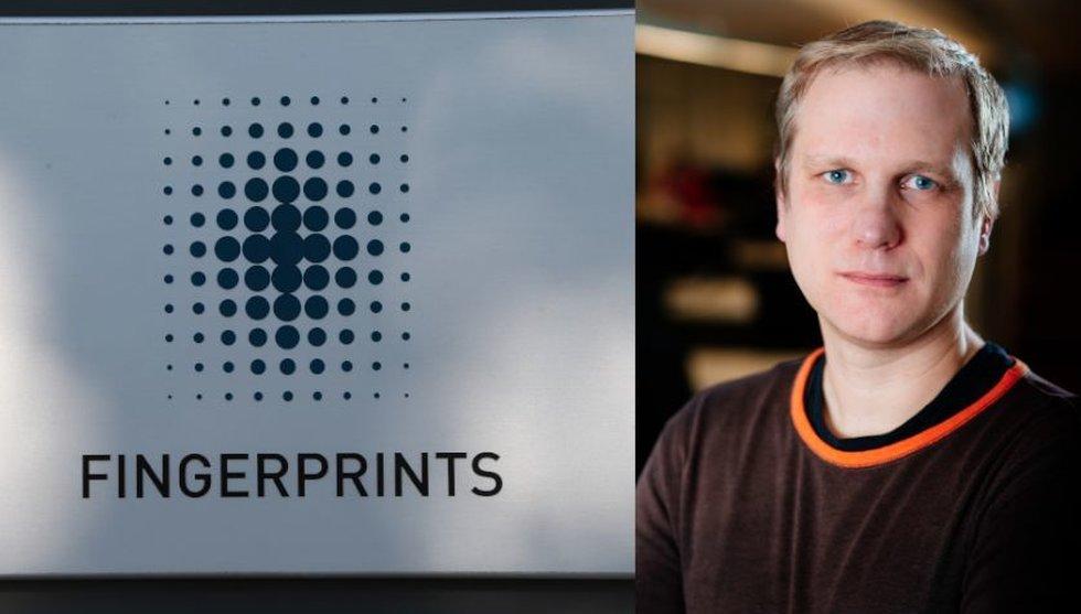 Breakit - Nu är verkligheten på väg i kapp techsuccén Fingerprint