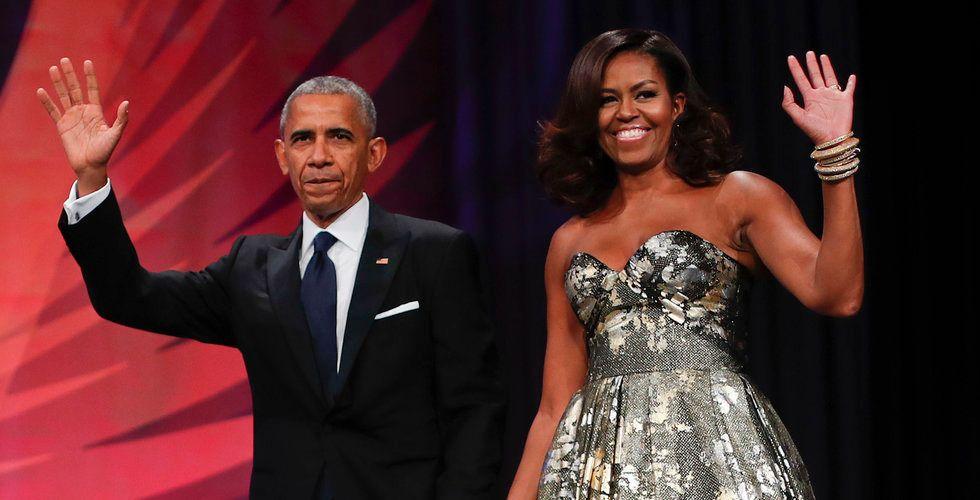 Spotify i exklusiv deal med paret Obama