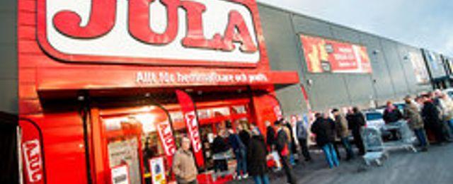Jula slog försäljningsrekord i maj – dubblade e-handeln