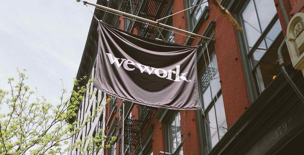 WeWork mer än dubblade intäkterna förra året