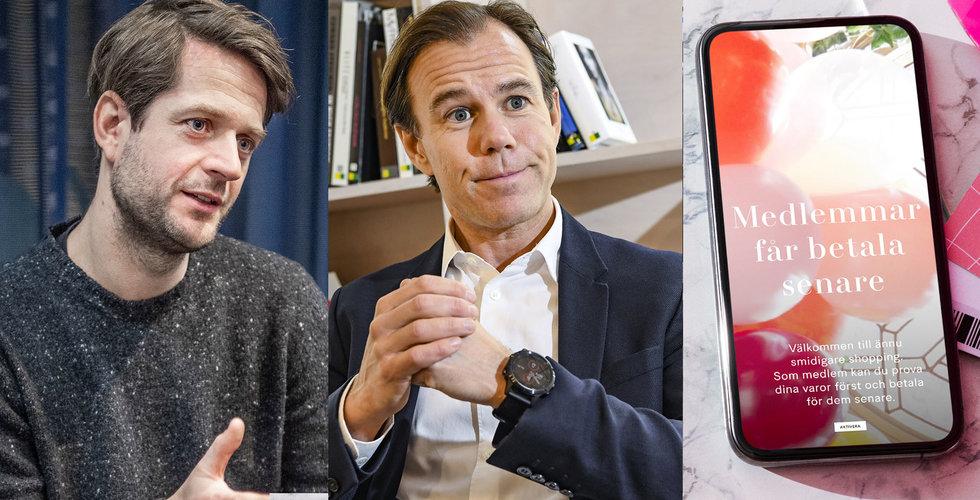 """H&M lanserar sitt samarbete med Klarna: """"Handla nu och betala senare"""""""