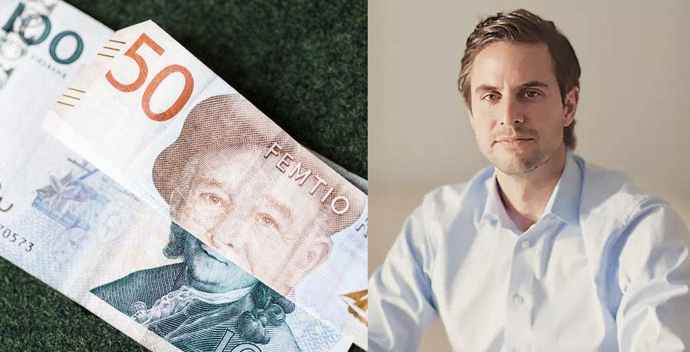 Klarna-chefen Andreas Thim ska få svenskarna att låna ut sina pengar