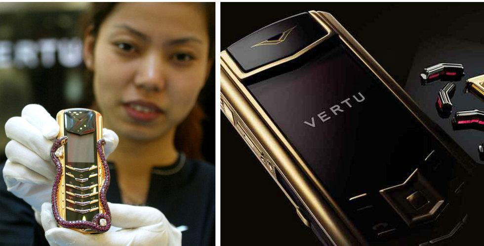 Breakit - Lyxmobil-tillverkaren Vertu ska likvideras