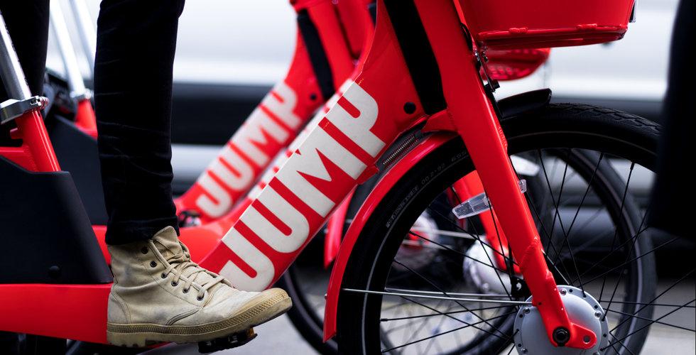 Breakit - Uber köper cykeldelningsbolaget Jump