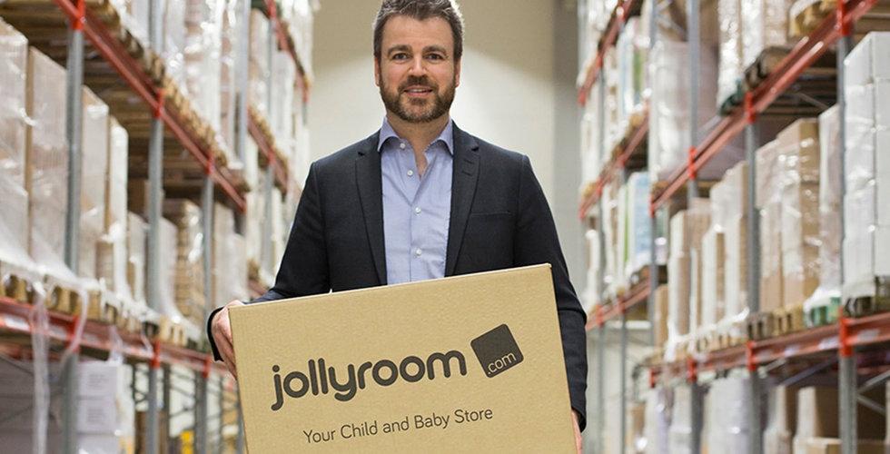 Jollyroom investerar 80 miljoner i robotlager