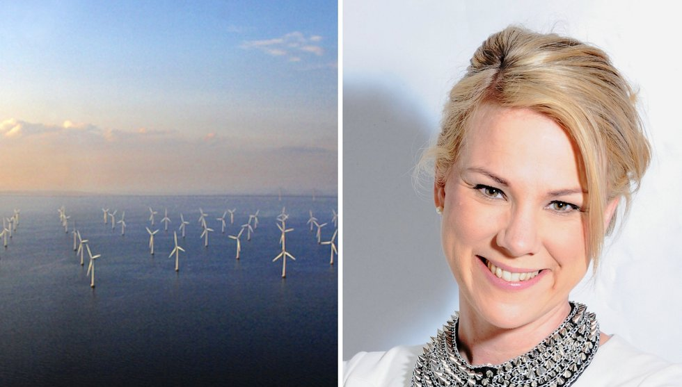 Kan vindkraft på havet rädda oss? Trindas Charlotte Bergqvist tror det