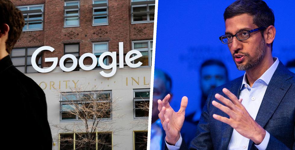 Google-anställda har bildat fackförbund