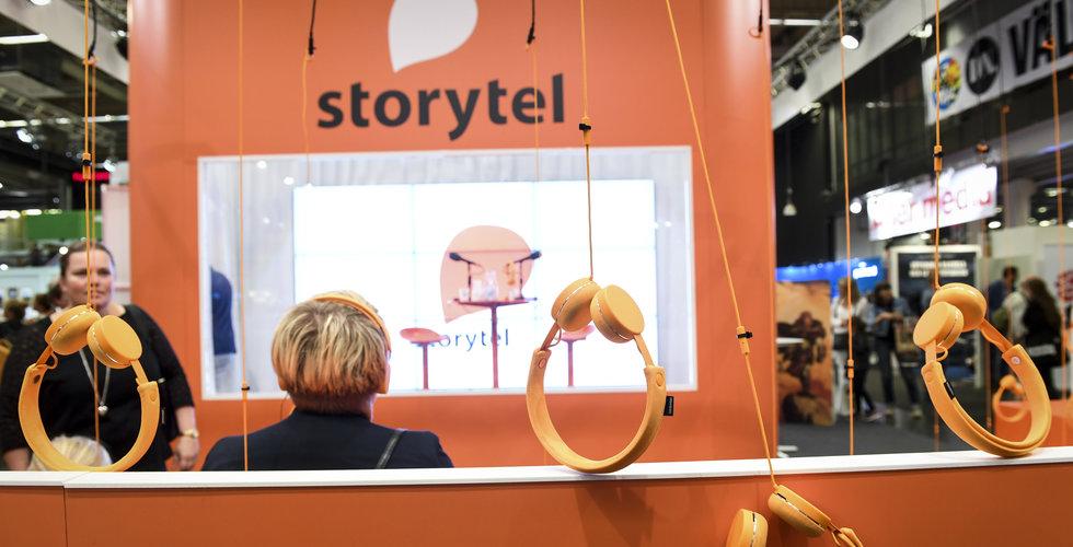 Storytel fortsätter att gasa – tar in 200 miljoner kronor