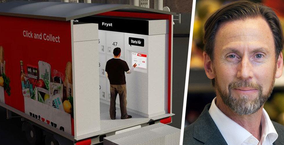 Axfoods Willys testar mobila hämtstationer för e-handeln