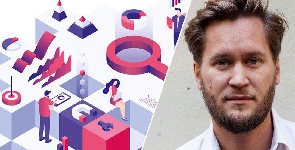 Erik Modig, kursledare för kursen Diplomerad growth marketer