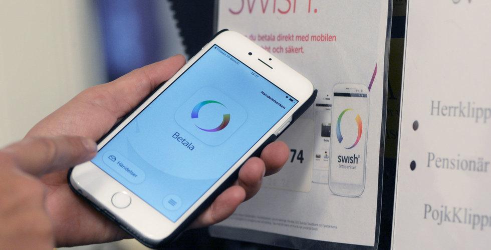 Swish ökade rejält i e-handeln under 2018