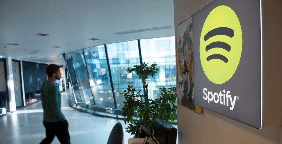 Förlusterna ökar för Spotify - över 1,5 miljarder back under fjolåret