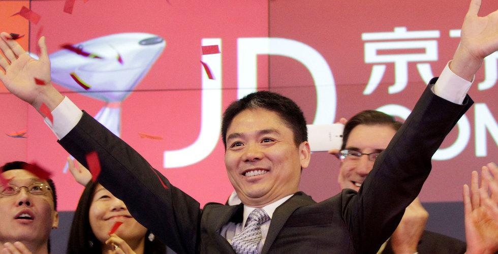 JD.com vill dra in 16 miljarder till sin logistikenhet
