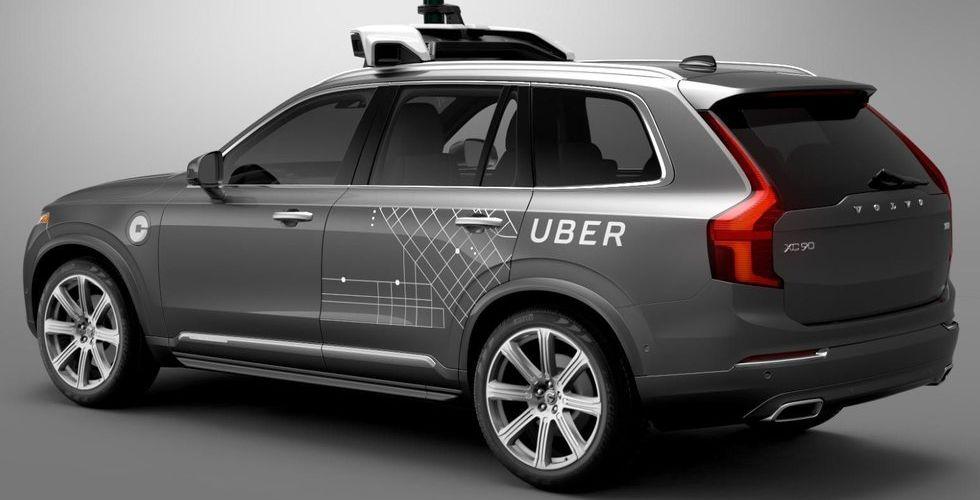 Breakit - Ubers första självkörande bil är här – och det är en Volvo