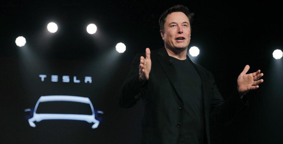 Uppåt för Tesla efter uppköps-uppgifter