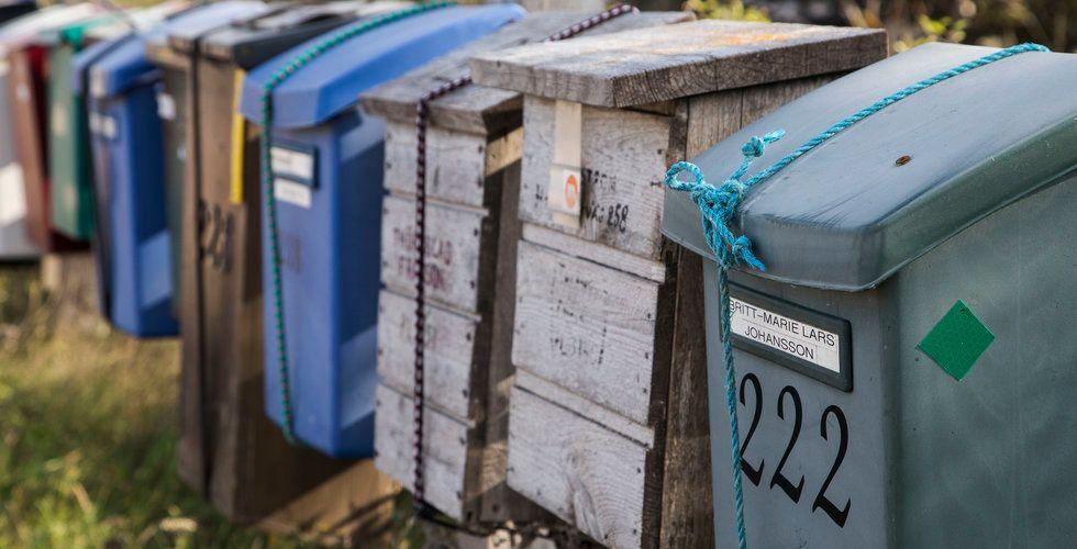 Postnord minskar utdelningen – men allt färre verkar faktiskt bry sig