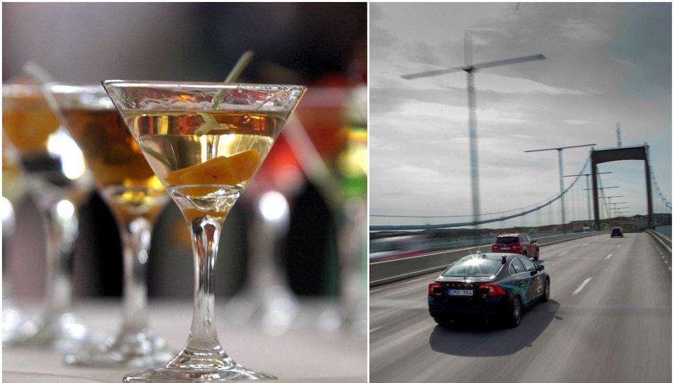 Rapport: Självkörande bilar kan få alkoholmarknaden att explodera