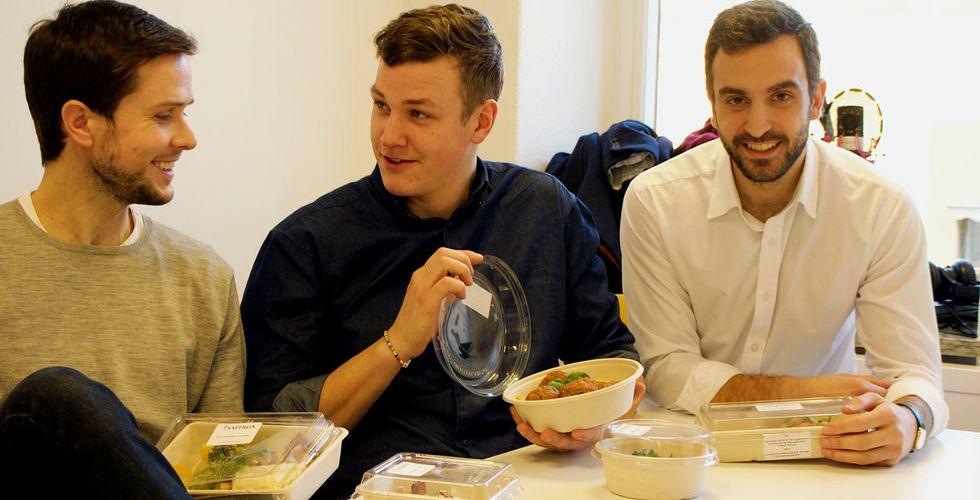 Breakit - Lyxmat direkt från kylen ska bli deras vinnande startup-recept