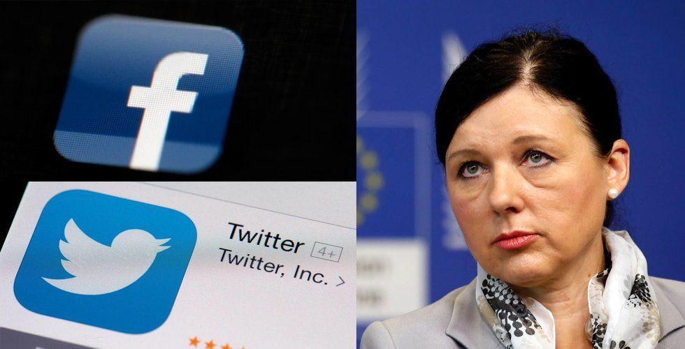 EU kräver snabbare hjälp från Facebook och Apple