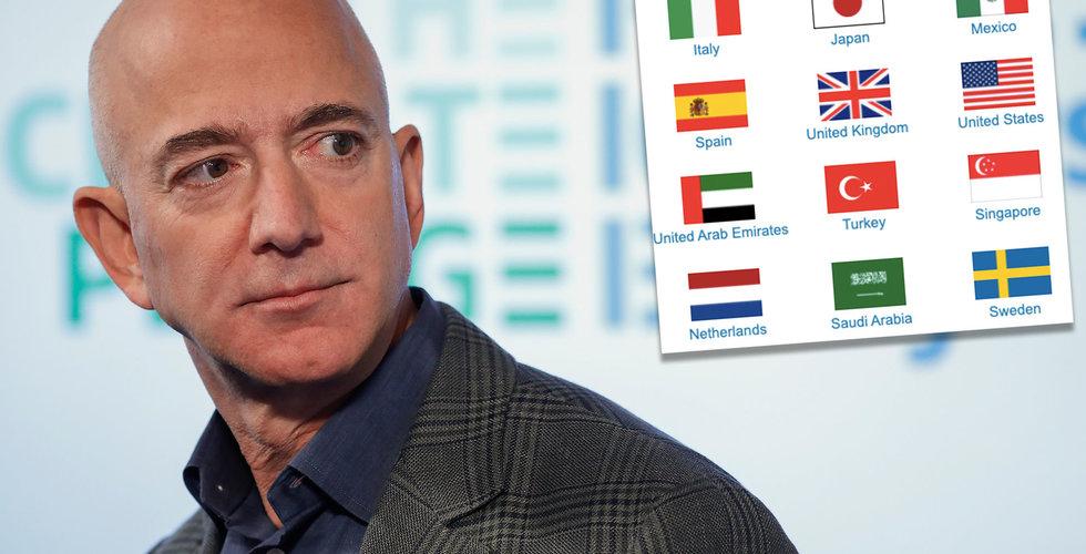 """Är det här missen som avslöjar Amazons lansering i Sverige? """"Missade deadline"""""""