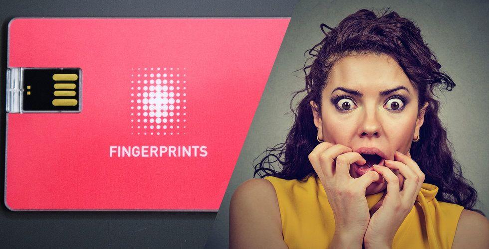 Fingerprint Cards faller på nytt med över 8 procent efter gårdagens handelsstopp