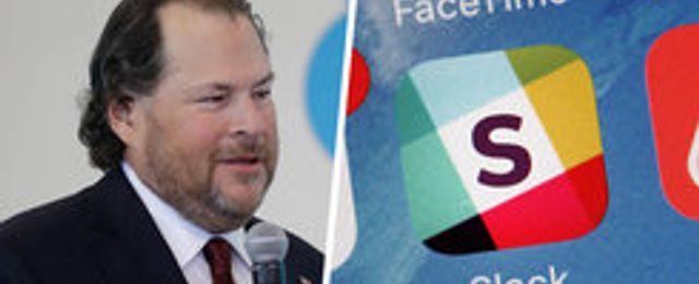 Salesforce köper Slack – för 235 miljarder