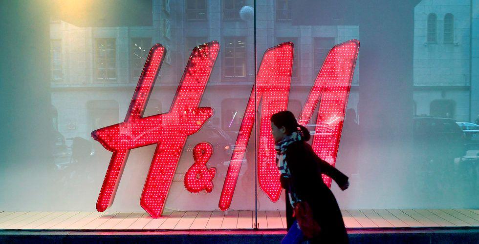 H&M har stängt butik i centrala Stockholm