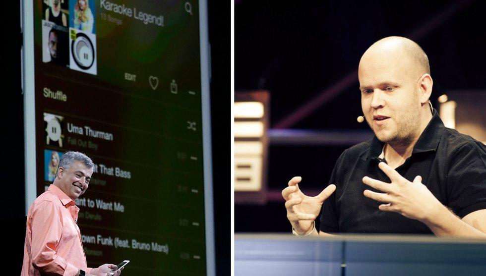 Breakit - Det här är vad Apples nya musiktjänst betyder för Spotify