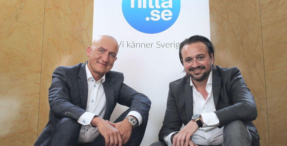 Schibsted säljer Hitta.se