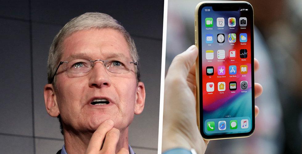 Domare rekommenderar importförbud på Iphones