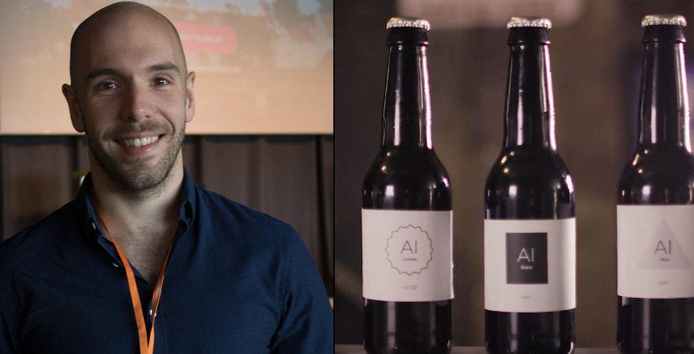 Öl med hjälp av algoritmer – så vill han ta fram den perfekta biran