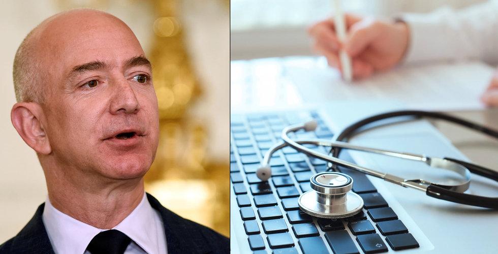 Breakit - E-handelsjätten Amazon gör som Apple – satsar på vårdcentraler för sina anställda