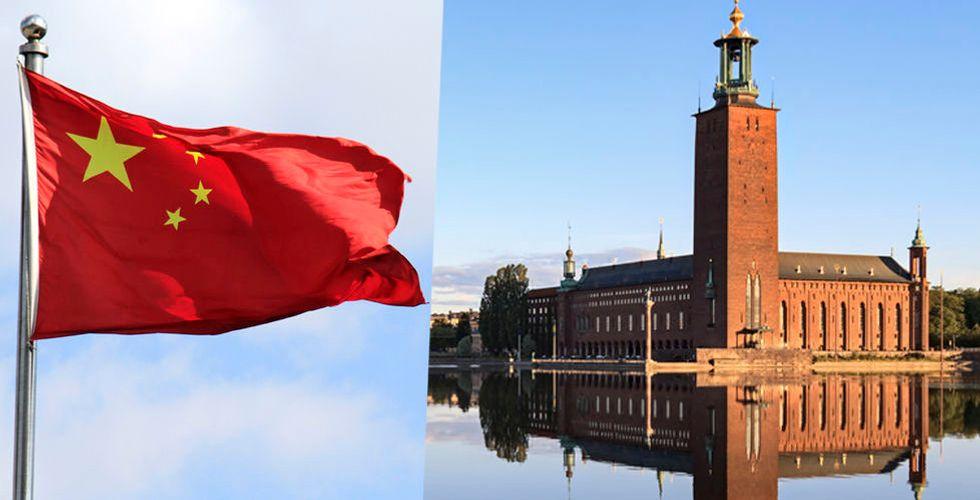 """Kina till attack mot Sthlm Tech Fest:  """"Allvarlig politisk provokation"""""""