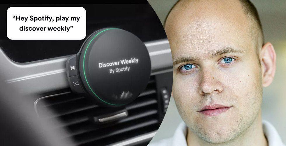 Breakit - Är detta Spotifys jättesatsning? Bilder visar spelare för bilen