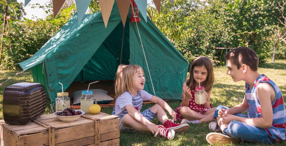 Svensk flygskam bäddar för campingrekord i sommar